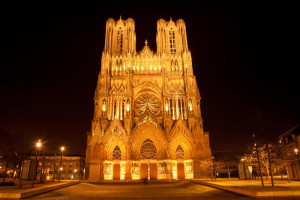 Map of Notre Dame Cathedral France