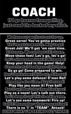 for the volleyball coach seriously my coach needs to say these things ...