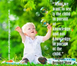 Funny Education, Knowledge, Children learning, George Bernard Shaw ...
