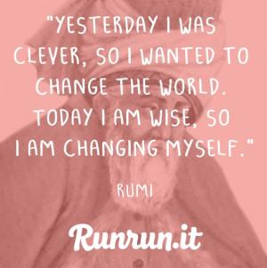 Inspiring Quotes – Rumi