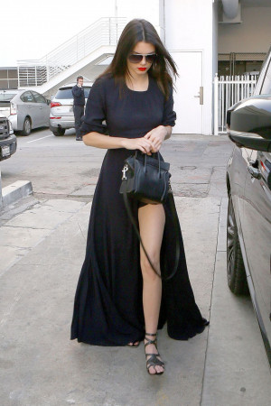 Kendall Jenner Ripped Leggings