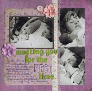 ... baby scrapbook baby layout scrapbook layout photos layout layout ii
