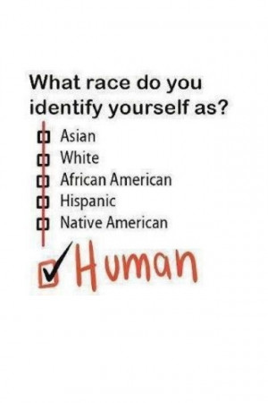 We are all human.