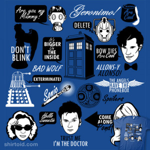 Doctor Who Quotes | Shirtoid