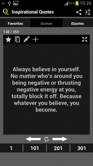 Inspirational Quotes - screenshot
