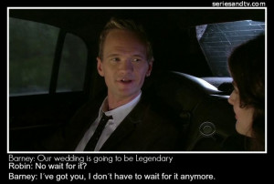 of the most romantic quotes by Barney Stinson on #HIMYMBarneys Stinson ...