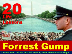 20 Life Lessons From Forrest Gump