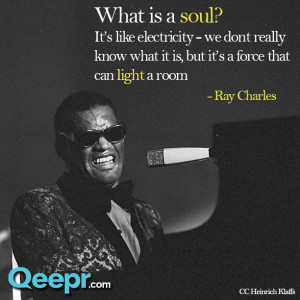Qeepr Quote: Ray Charles
