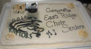 East Ridge High School Spring Choir Concert Cakes & Cupcakes