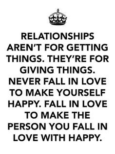 important, it's not real love. Real love is being able to sacrifice ...