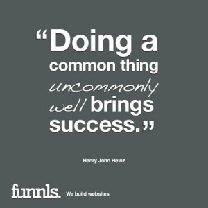 success quotes business quote henry john heinz