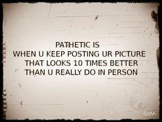 pathetic quotes ☺