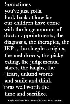 Can be applied to all parents who have children with special needs.