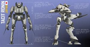 Tacit Ronin - Ranged Weapons?