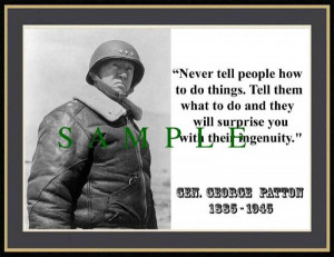 Details about GEN GEORGE PATTON