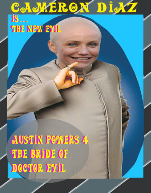 Austin Powers Air Quotes Austin powers 4 the bride of