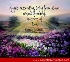 ... Bring From Above Echoes Of Mercy Whispers Of Love Fanny J Crosby