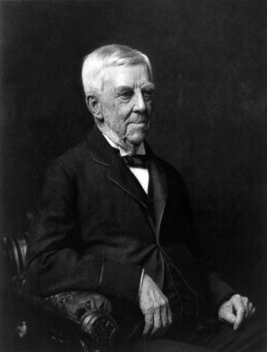 Oliver Wendell Holmes, Sr., circa 1894. Public domain, Library of ...