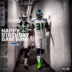 April 3 - Boom goes the Kam Chancellor. #lob: Seattle Sports, Seahawks ...