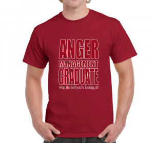 Mens Funny Sayings Jokes Slogans tshirts-Anger Management T-shirt On ...