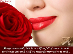 Just Smile (Smile quotes and images)