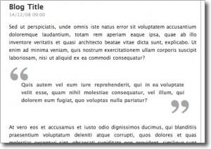 MLA Format Block Quote