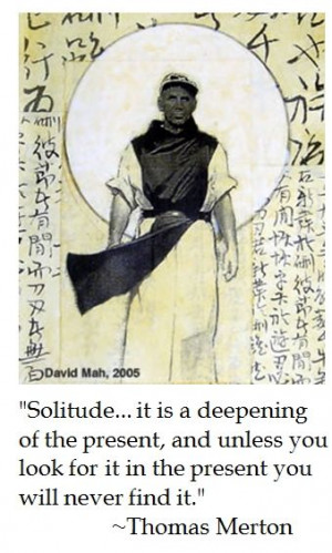 Thomas Merton on Solitude #catholic #quotes