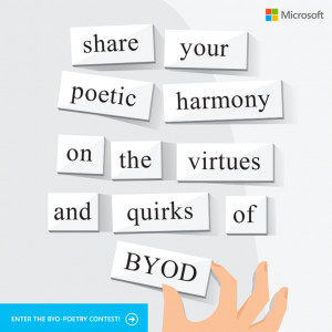 write a poem about it, you could win an Xbox 360 with Kinect bundle ...