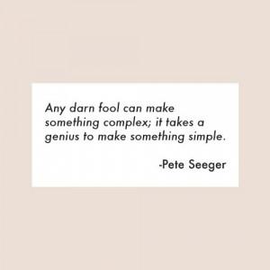 Pete Seeger Quotes Einstein | wemadeithome.com