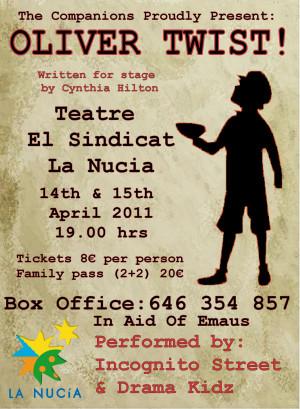 Oliver Twist! Opening night