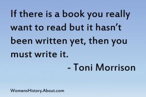 Toni Morrison Quote - Jone Johnson Lewis
