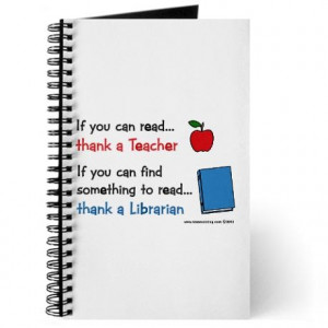 cute quote for librarian gift