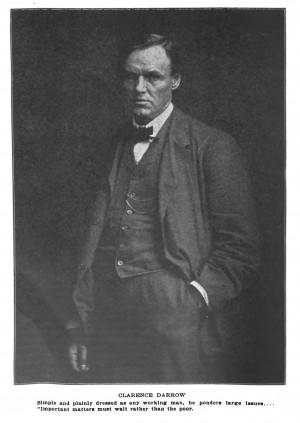 Clarence Darrow circa 1912.