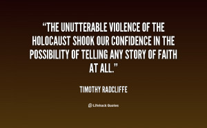 Holocaust Quotes The And