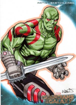 Guardians of the Galaxy - Drax by Kevin West *