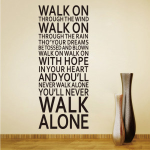inspirational walk on wall sticker new office decoration quotes decals ...