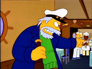 Captain From Simpsons