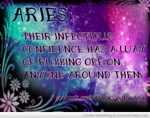 Aries Astrology Quote