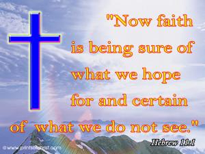 Hebrew11:1 Wallpaper