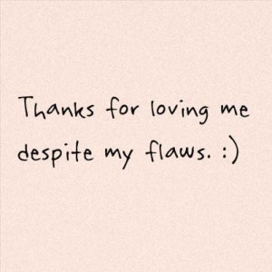 Thank you quotes sayings for loving me