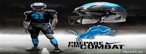 Detroit Lions Football Nfl 5 Facebook Cover