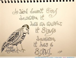 Dr. Maya Angelou motivational inspirational love life quotes sayings ...