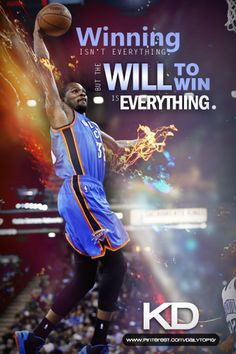 basketball quote   Inspiring words from Kevin Durant. #KD #KevinDurant ...