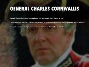 General Lord Charles Cornwallis