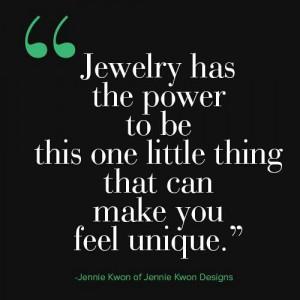 jewelry #power #unique #quote