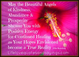 May the Beautiful Angels of Kindness, Abundance & Prosperity Shower ...