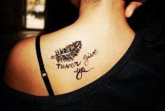 the tattoos for girls from Quote Tattoos - Discover unique & inspiring ...