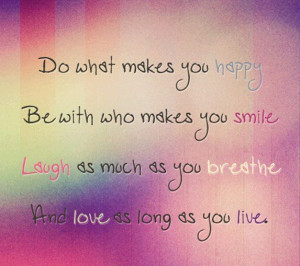 Do What Makes You Happy-1