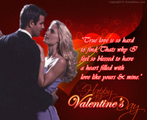 ... Happy Valentine Day 2014 Greeting Cards with Romantic Love Quotes (34