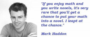 Mark haddon famous quotes 3